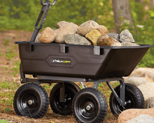 dump cart vs wheelbarrow