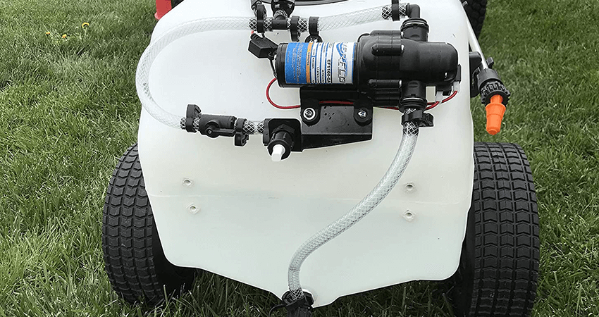 how to use garden sprayer