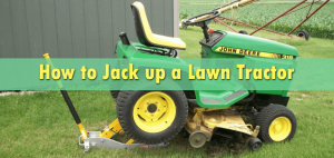 How to Jack up a Lawn Tractor
