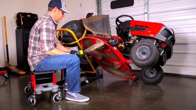 Is it Easy to Jack up a Lawn Tractor