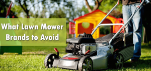 What Lawn Mower Brands to Avoid Buying?