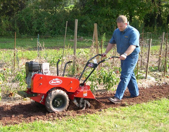 About Rear Tine Rototiller