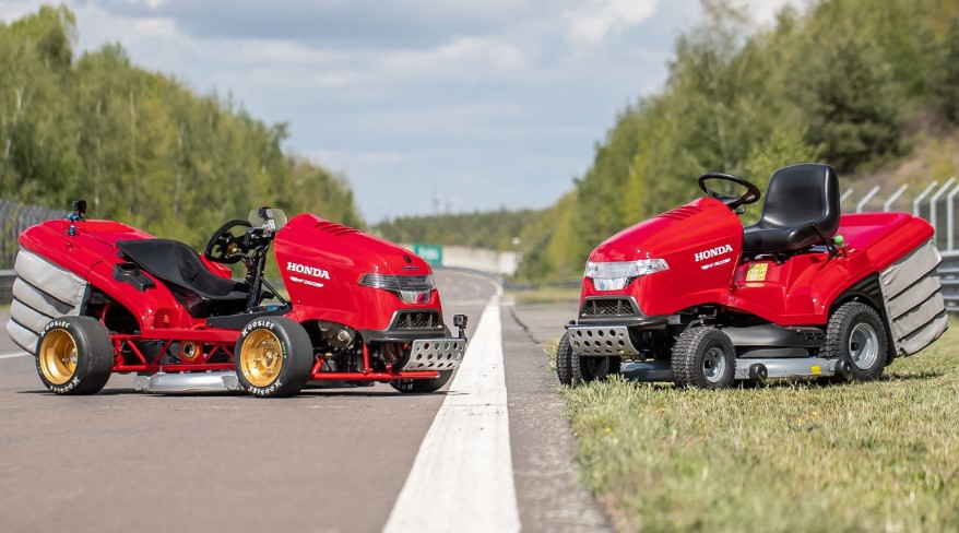 Why Do You Need A Fast Lawn Mower?