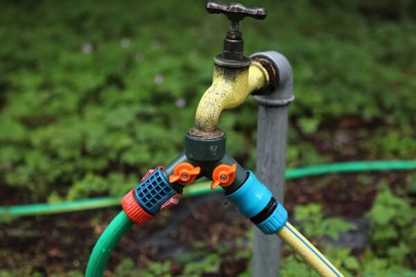 How To Increase Water Pressure In Your Garden Hose - hose splitter